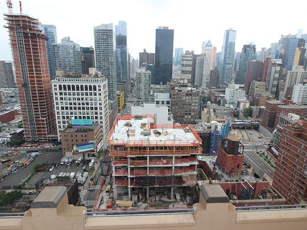 2017年6月19日美国曼哈顿第十大道酒店项目进展