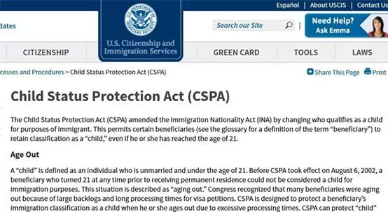美国杏彩游戏平台官网局关于儿童保护法(CSPA)的介绍