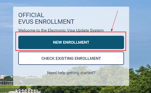 EVUS登记会得到一个全新的登记号码、登记有效期和登记状态