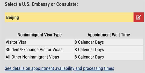 美国签证即将全面开放预约时间!内附各领馆等待预约日期