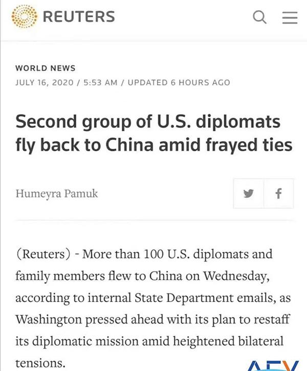 全球美国签证陆续恢复,中国有希望在8月中上旬恢复?